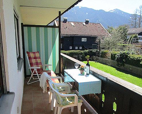 Ferienwohnungen Maria, 83700 Rottach-Egern, Balkon der FeWo Riederstein