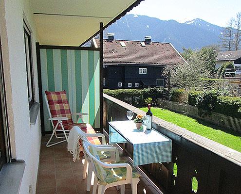 Ferienwohnungen Maria, 83700 Rottach-Egern, Balkon FeWo Riederstein