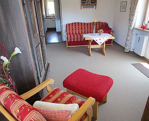 Ferienwohnungen Maria, 83700 Rottach-Egern - Wohnbereich FeWo Wallberg