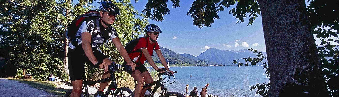 Ferienwohnungen Maria, 83700 Rottach-Egern, Mountainbiken am See