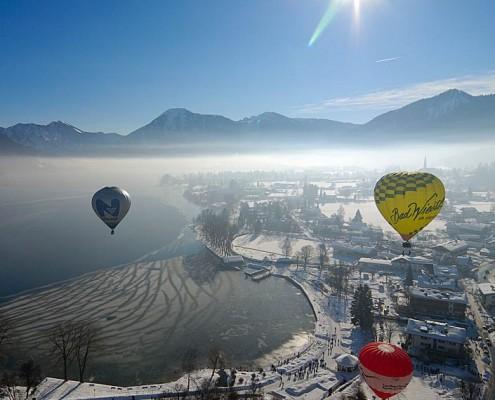 Ferienwohnung Tegernseer Tal - Montgolfiade