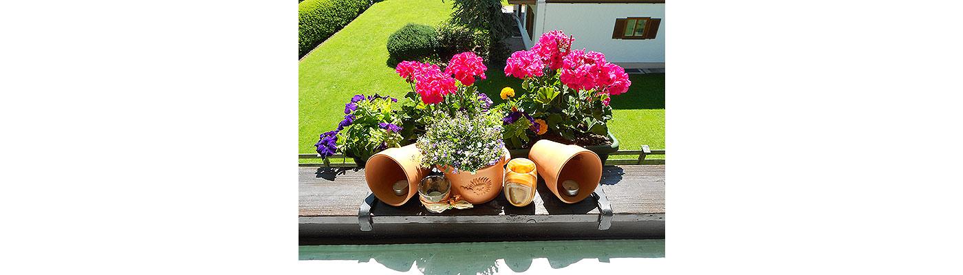 Ferienwohnungen Tegernsee - Blick vom Balkon