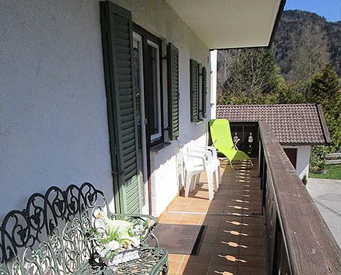 Ferienwohnungen Maria, 83700 Rottach-Egern, Balkon in der FeWo Wallberg